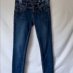 Miss Me Jeans 26 jegging style denim pants